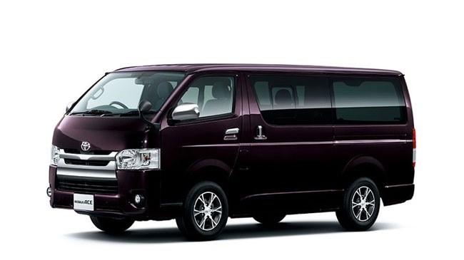 Toyota Hiace phiên bản mới ra mắt