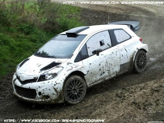 Toyota Yaris Wrc Body Kit >> Toyota Yaris với phiên bản độ WRC gây bất ngờ - Xe Toyota
