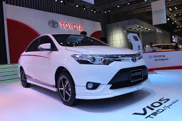 Toyota Vios mẫu xe bán chạy nhất trong tháng 3