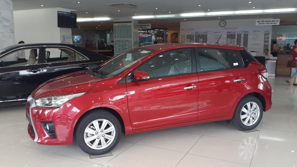 Toyota Yaris 2015  trẻ trung và năng động phần 2