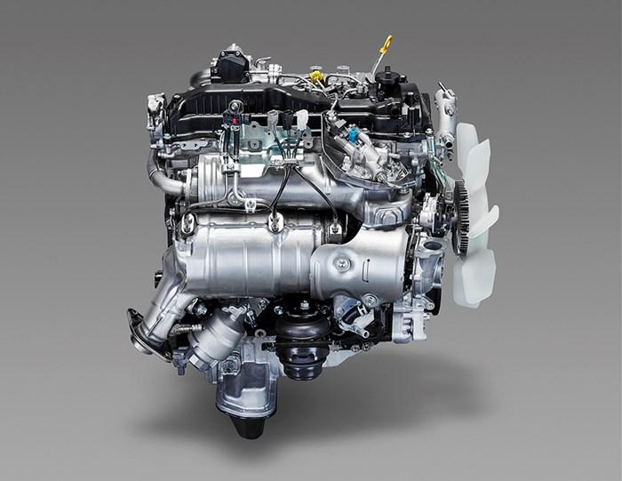 Những điểm mới trên động cơ Toyota Hilux và Fortuner 2016 2