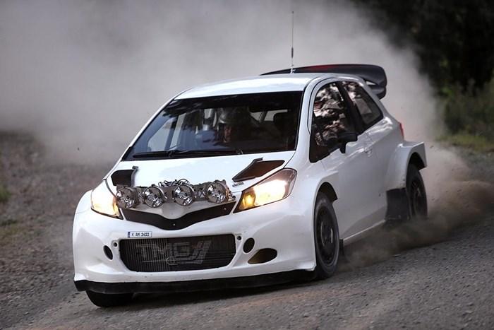Phiên bản xe đua Toyota Yaris bất ngờ xuất hiện 1