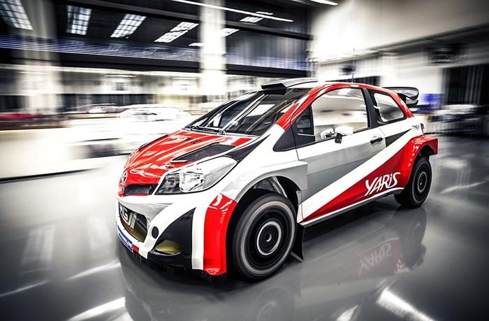 Phiên bản xe đua Toyota Yaris bất ngờ xuất hiện 2