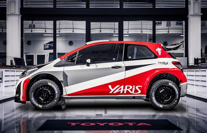 Phiên bản xe đua Toyota Yaris bất ngờ xuất hiện 5