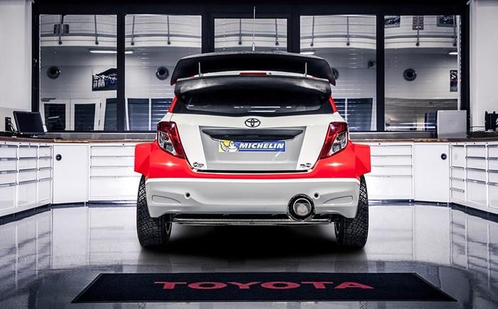 Phiên bản xe đua Toyota Yaris bất ngờ xuất hiện 6