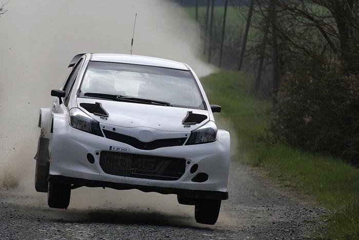 Phiên bản xe đua Toyota Yaris bất ngờ xuất hiện 9