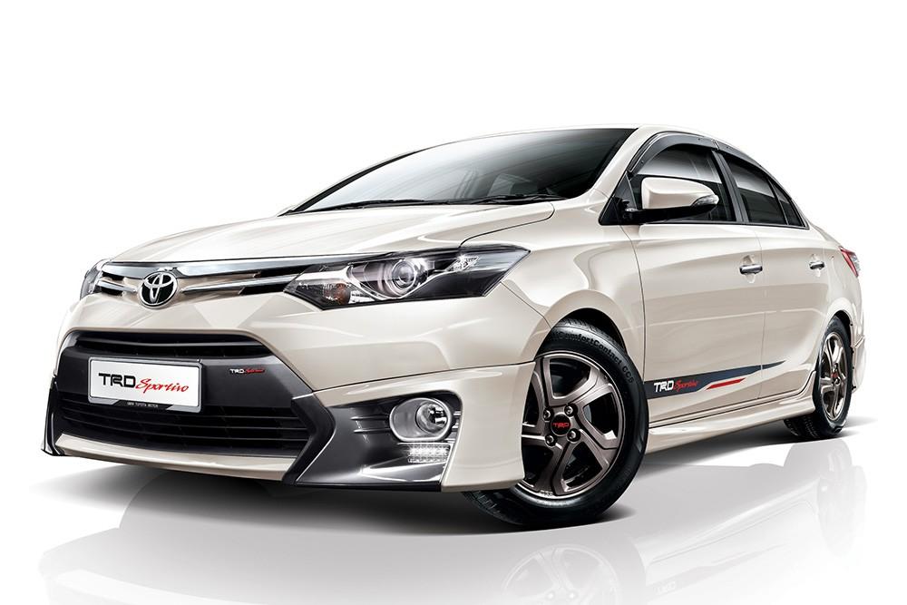 Toyota Vios phiên bản TRD Sportivo hình ảnh sắc nét 9