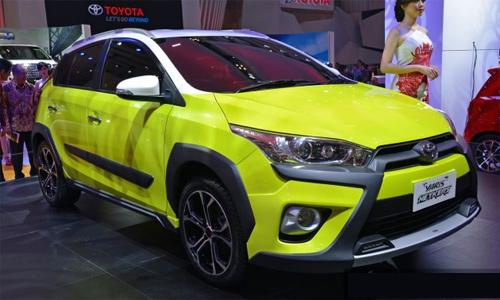 Hình ảnh Toyota Yaris mẫu Concept mới nhất 1
