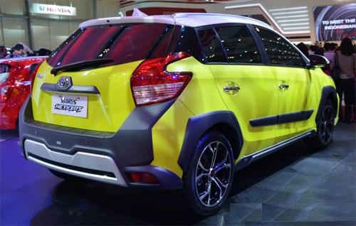 Hình ảnh Toyota Yaris mẫu Concept mới nhất 3