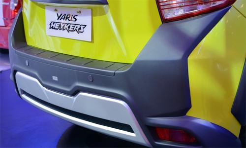Hình ảnh Toyota Yaris mẫu Concept mới nhất 7