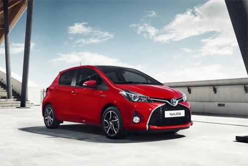 Nâng cấp mới cho Toyota Yaris 2016 2