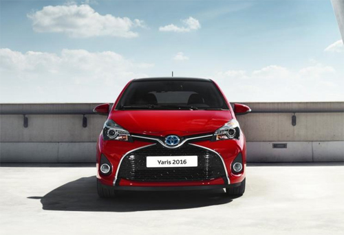 Nâng cấp mới cho Toyota Yaris 2016 3