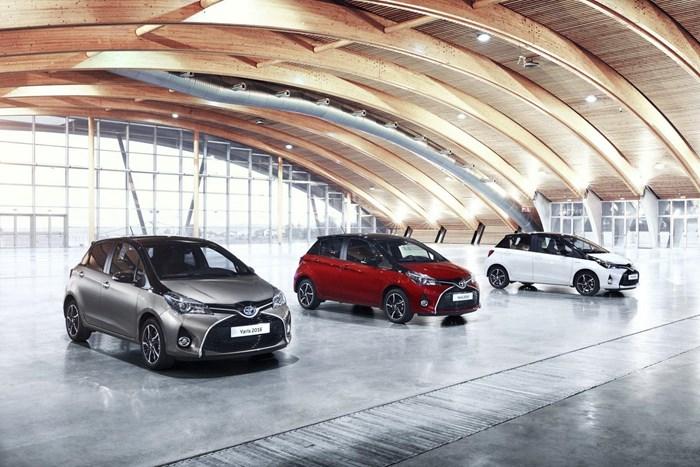 Thông tin đầu tiên về phiên bản mới Toyota Yaris 2016 1