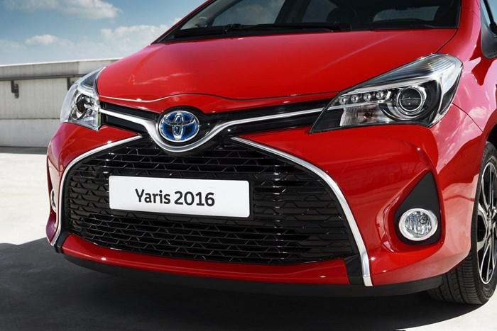 Thông tin đầu tiên về phiên bản mới Toyota Yaris 2016 5