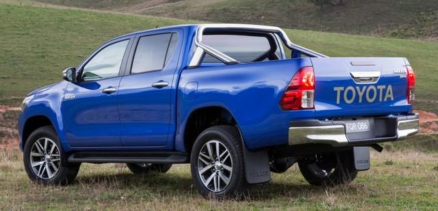 Toyota Hilux 2016 sắp về thị trường Việt Nam 2
