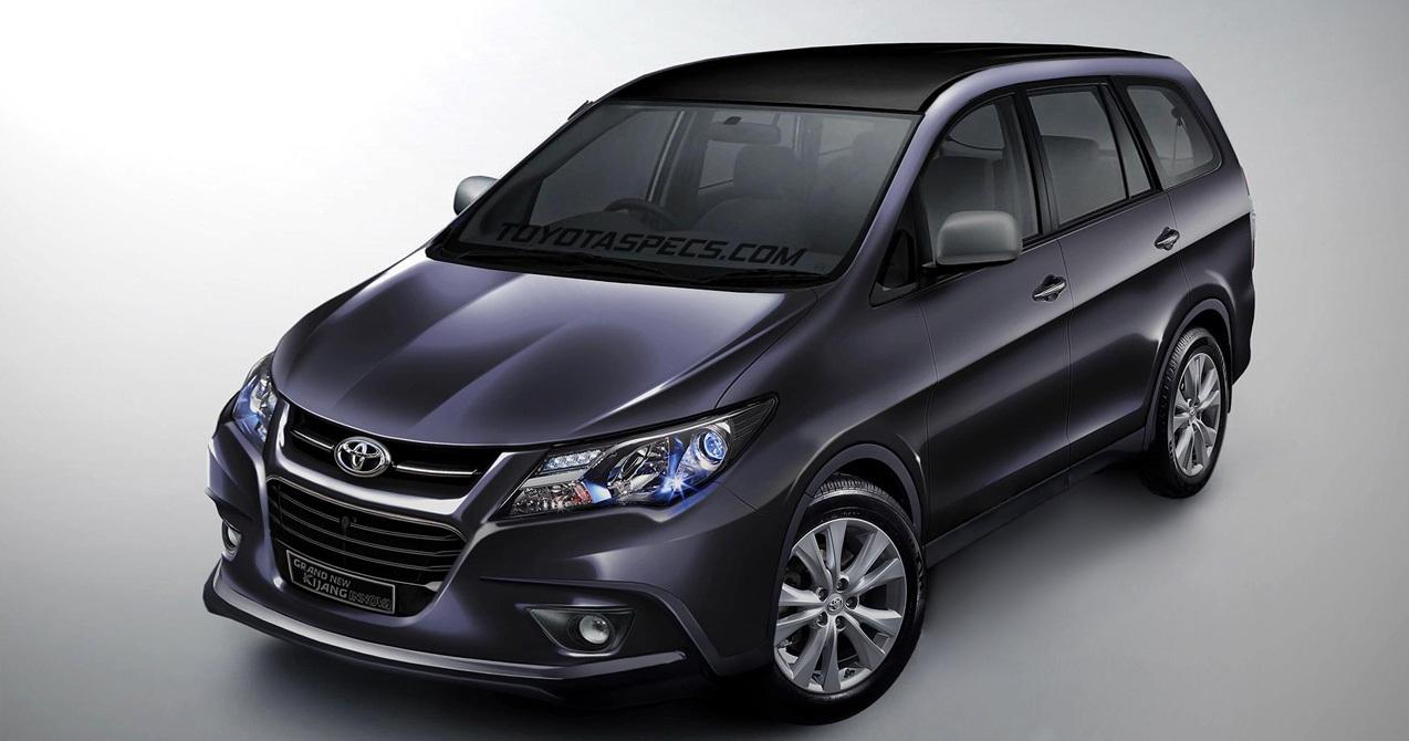 Toyota Innova 2016 chính thức ra mắt vào tháng 10 /2015