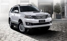 Xe Toyota Fortuner 2.5G máy dầu số sàn giá tốt nhất