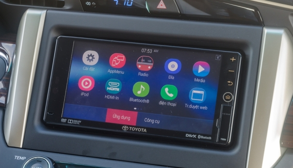 xe Toyota Innova 2.0V 07 chỗ số tự động